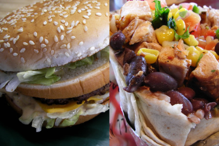 McDonalds' Cheesy Attempt to Focus Their Marketing on 'Love'… vs Chipotle's Loving Recall of Tainted Pork